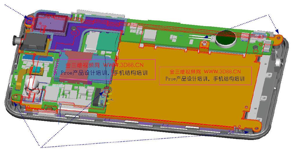 手机结构视频教程,n8手机结构设计视频