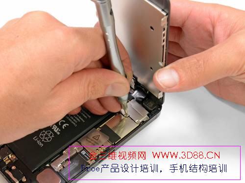 苹果5手机拆机|苹果5拆机图片|iphone5拆机图解|5