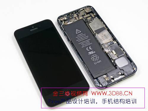 苹果5手机拆机|苹果5拆机图片|iphone5拆机图解