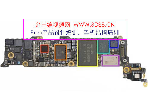 ipod5图片拆机-・苹果5拆机图Iphone5高清拆机图